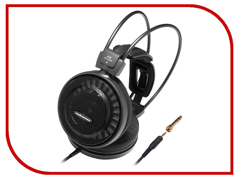 Audio-Technica ATH-AD500X audio technica ath ls50is 15119537 внутриканальные наушники red
