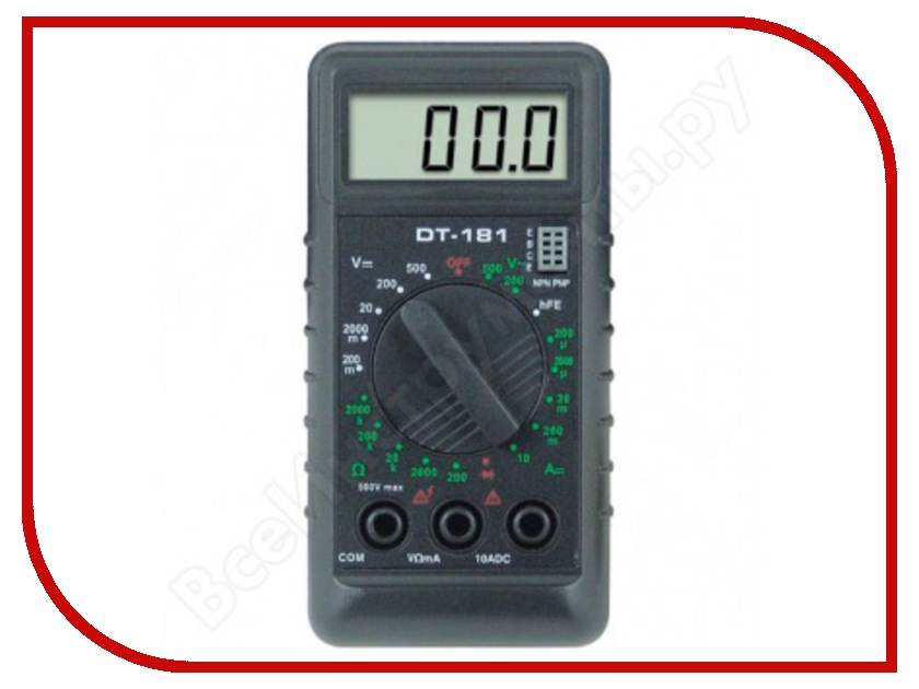 Мультиметр Ресанта DT 181<br>