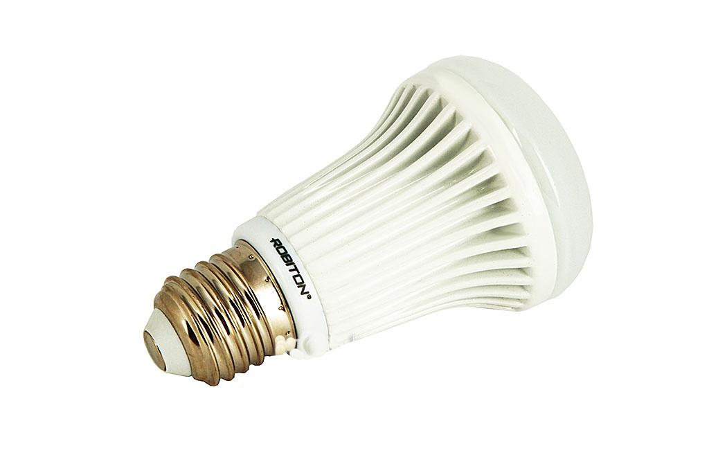 Лампочка Robiton LED M60-9W-4200K-E27<br>
