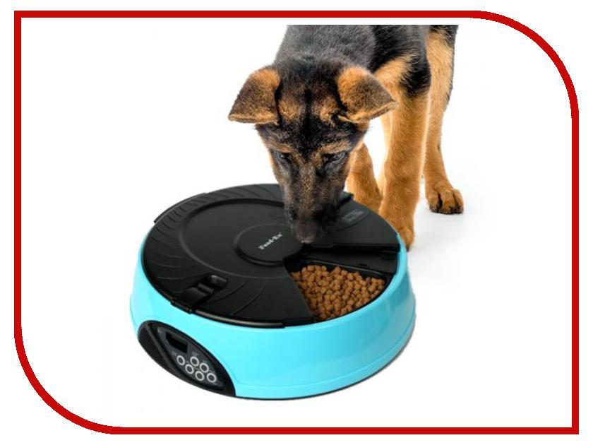 Автоматическая кормушка Feed-Ex PF2B Blue для животных сменные угольные фильтры feed ex для поилок cath2o и dogh2o 3 шт