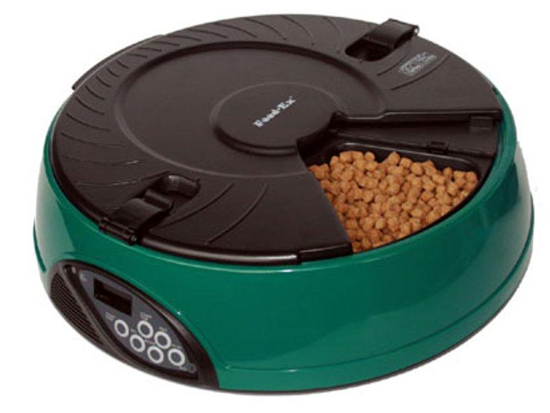 Автоматическая кормушка Feed-Ex PF6G Green для животных