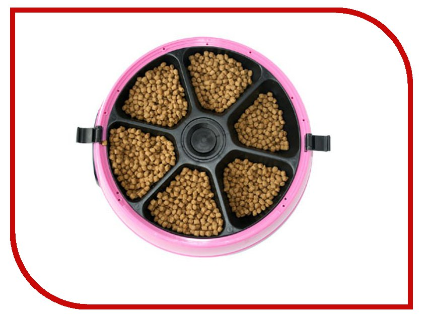 Автоматическая кормушка Feed-Ex PF6P Pink для животных nflc auto cut 25 2 nylon line bump feed head for brushcutter stihl trimmer black fs120 250
