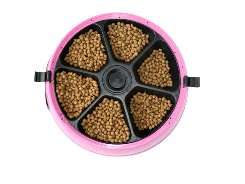 Автоматическая кормушка Feed-Ex PF6P Pink для животных