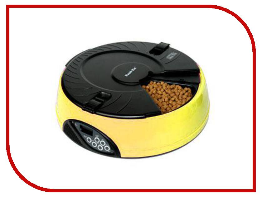 Автоматическая кормушка Feed-Ex PF6Y Yellow для животных автоматическая кормушка feed ex pf6g green для животных