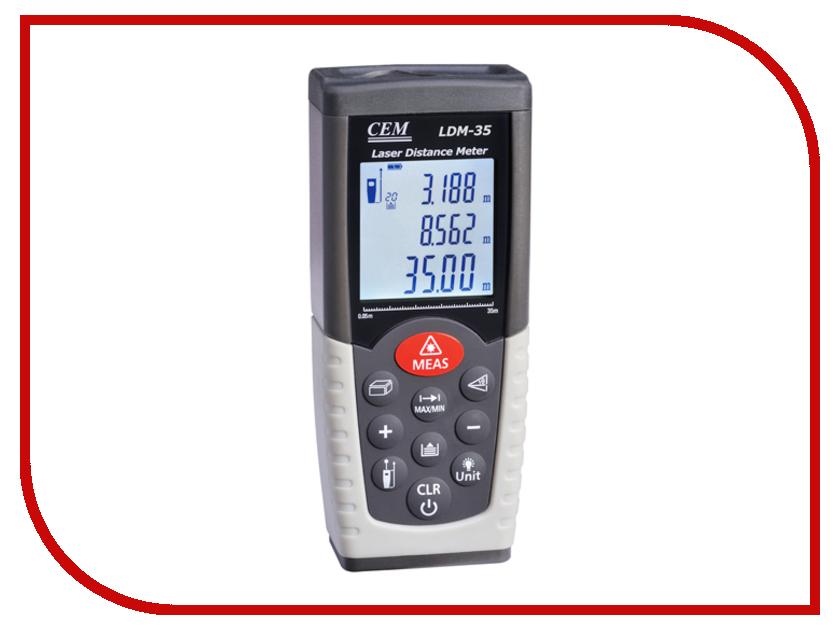 Дальномер CEM LDM-35 дальномер cem ldm 30 30 м 482155