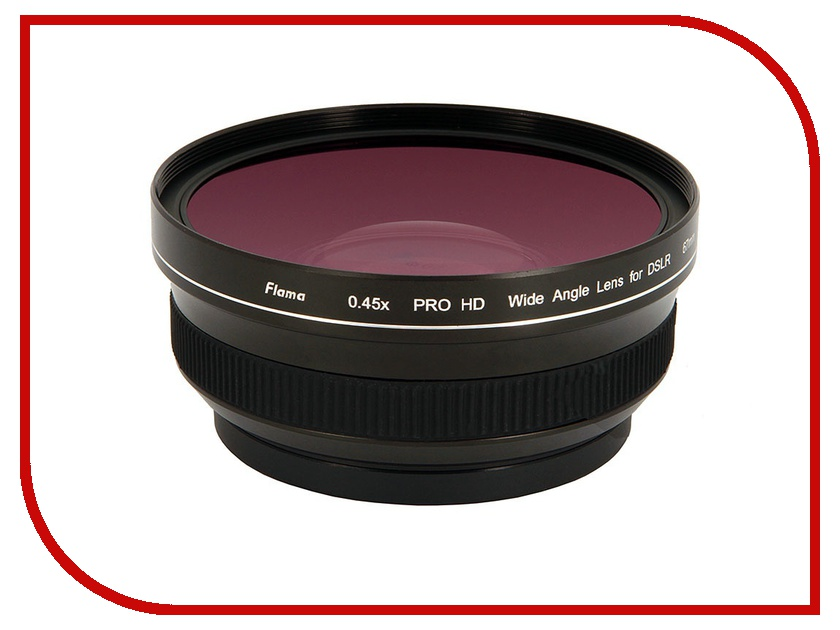 ��������� Flama Wide Angle 0.45x Conversion Lens Pro HD 67mm FL-CON45-67