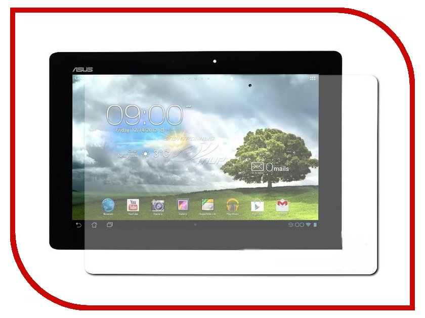 все цены на  Аксессуар Защитная пленка ASUS Memo Pad ME301T Media Gadget Premium глянцевая MG365  онлайн