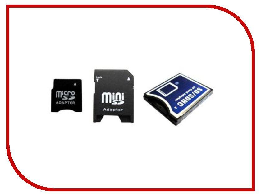Карта памяти Набор переходников Espada MicroSD / MiniSD / на Compact Flash E SDCSca-Comp Fl