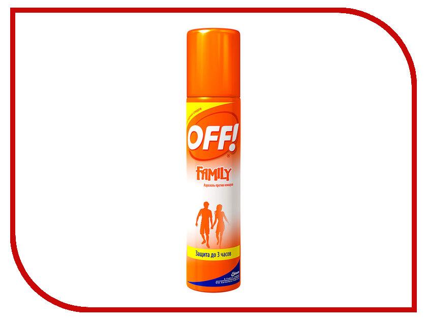Средство защиты от комаров SC Johnson Off! Family аэрозоль 100ml