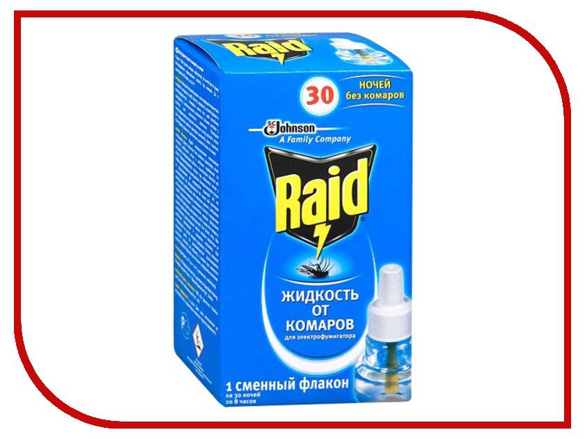 Средство защиты от комаров SC Johnson Raid Жидкость для фумигатора 30 ночей