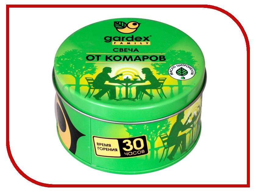 Средство защиты от комаров Gardex Family Свеча репеллентная