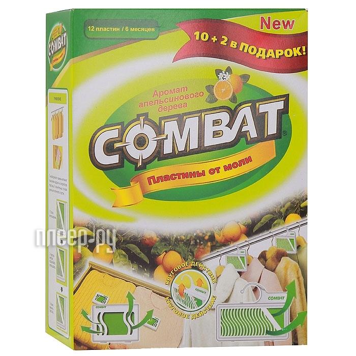 Средство защиты COMBAT Пластины 10+2шт  Pleer.ru  206.000