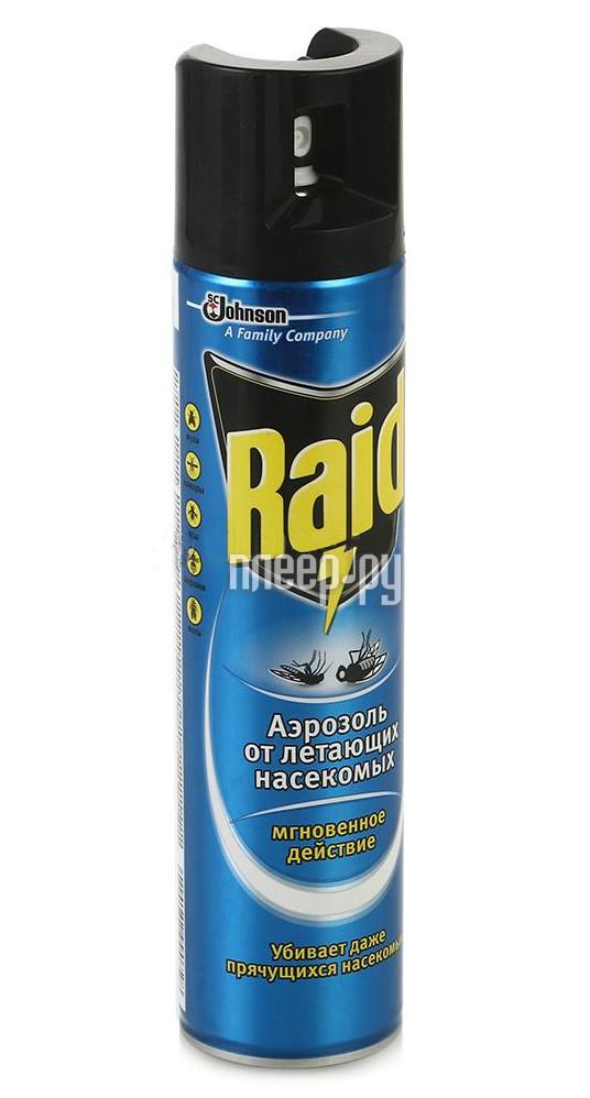 Средство защиты от мух SC Johnson Raid Аэрозоль 300мл