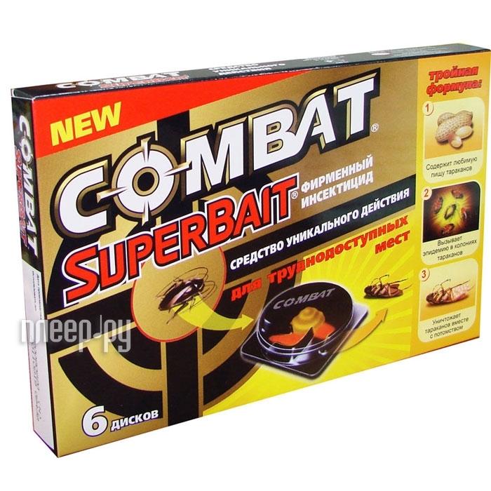 Средство защиты COMBAT Super Bait Ловушки 6 шт