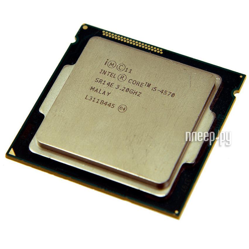Процессор Intel Core i5-4570 Haswell TRAY (3200MHz/LGA1150/L3 6144Kb)  Pleer.ru  7347.000