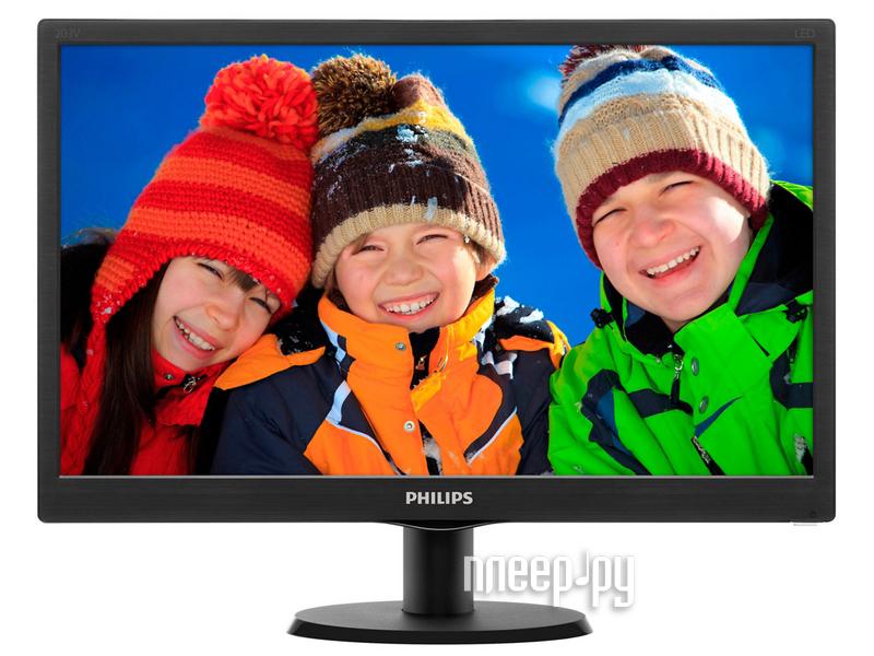Монитор Philips 203V5LSB26 10 / 62 Glossy-Black купить
