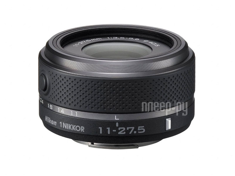 Объектив Nikon Nikkor 11-27.5 mm F/3.5-5.6 for Nikon 1 Black  Pleer.ru  4415.000