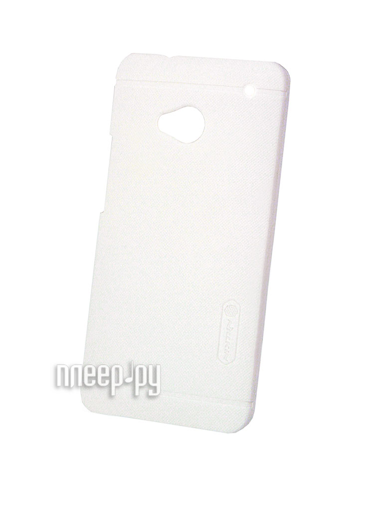 Аксессуар Чехол-накладка HTC One 802t Dual Sim Nillkin Super Frosted Shield White  Pleer.ru  1100.000