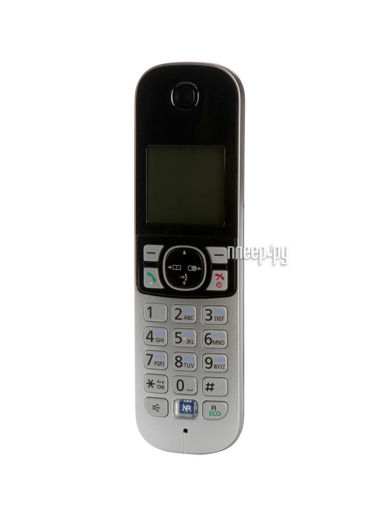 Радиотелефон Panasonic KX-TG6821 RUB Black