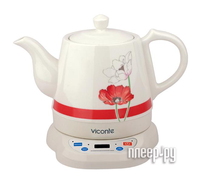 Чайник Viconte VC-3230 Red  Pleer.ru  888.000