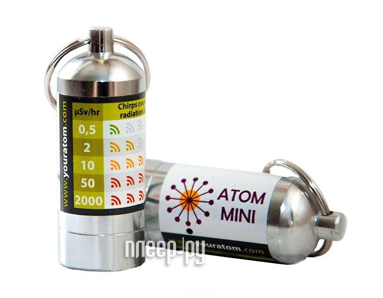 Индикатор Брелок-дозиметр Atom - mini  Pleer.ru  3453.000
