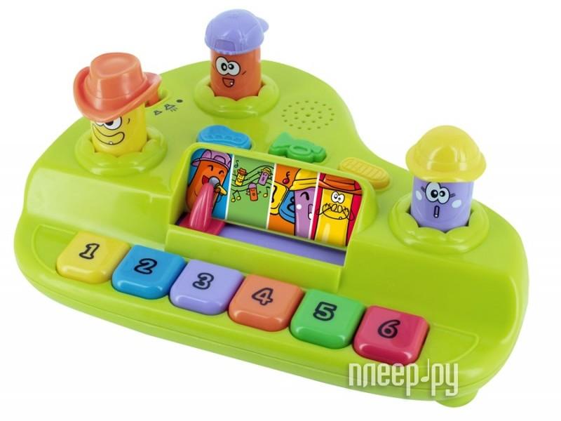 Детский музыкальный инструмент 1Toy Kidz Delight Музыкальная станция T55436