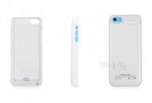 ��������� Ainy for iPhone 5 / 5S / 5C 2200/2500 mAh White CC-A035B