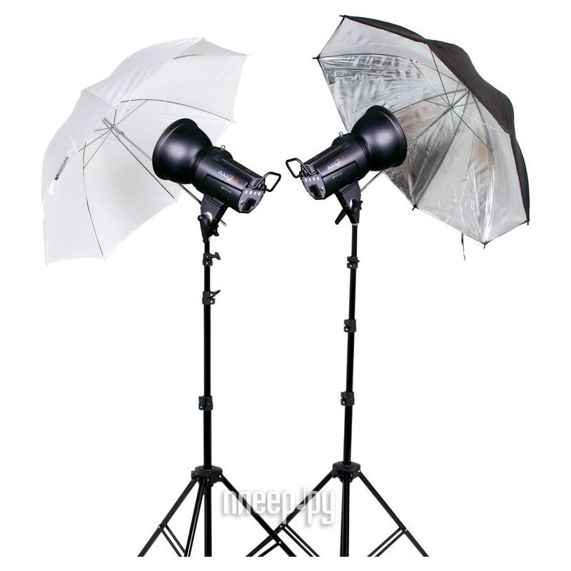 Комплект студийного света Raylab Axio2 RX-100-L UU Classic Kit  Pleer.ru  7851.000