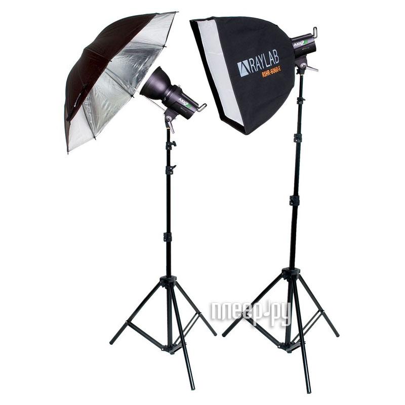 Комплект студийного света Raylab Axio2 RX-150-L SU Classic Kit  Pleer.ru  10678.000
