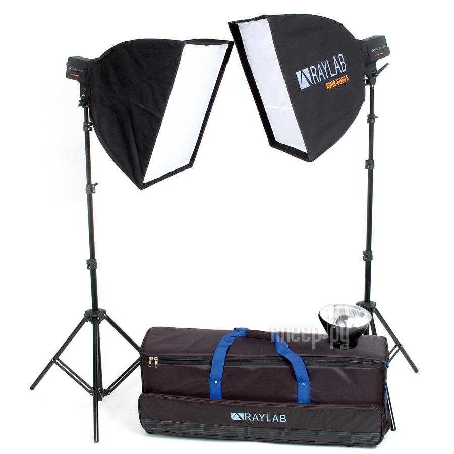 Комплект студийного света Raylab Axio2 RX-200-L SS Classic Kit  Pleer.ru  14148.000