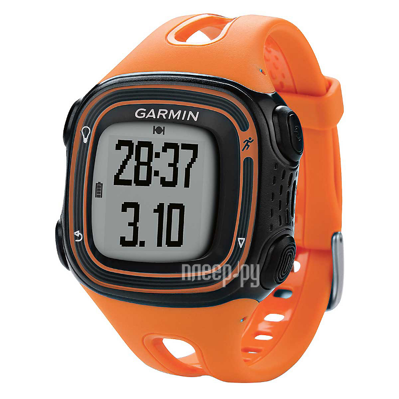 GPS-туристический Garmin Forerunner 10 Orange-Black 010-01039-16  Pleer.ru  5441.000