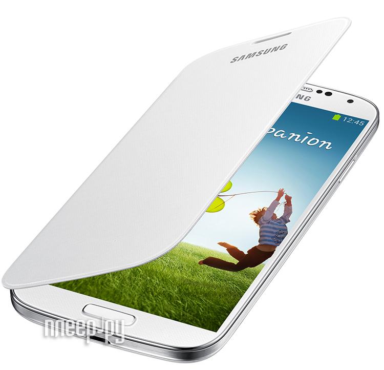 Аксессуар Чехол Samsung GT-i9192 Galaxy S4 mini EF-FI919BWEGRU White  Pleer.ru  1465.000