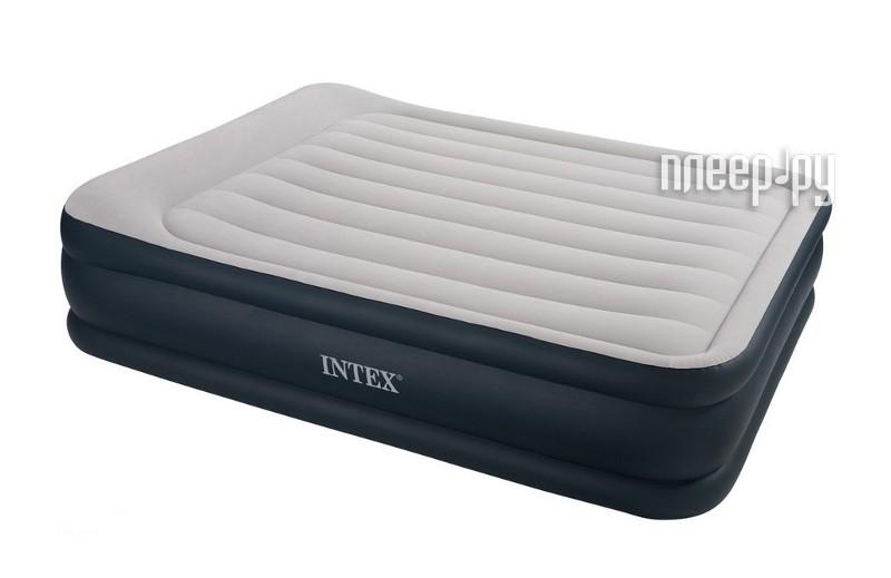 Надувной матрас Intex Rising Comfort 157x203x48cm с насосом 67738  Pleer.ru  1924.000