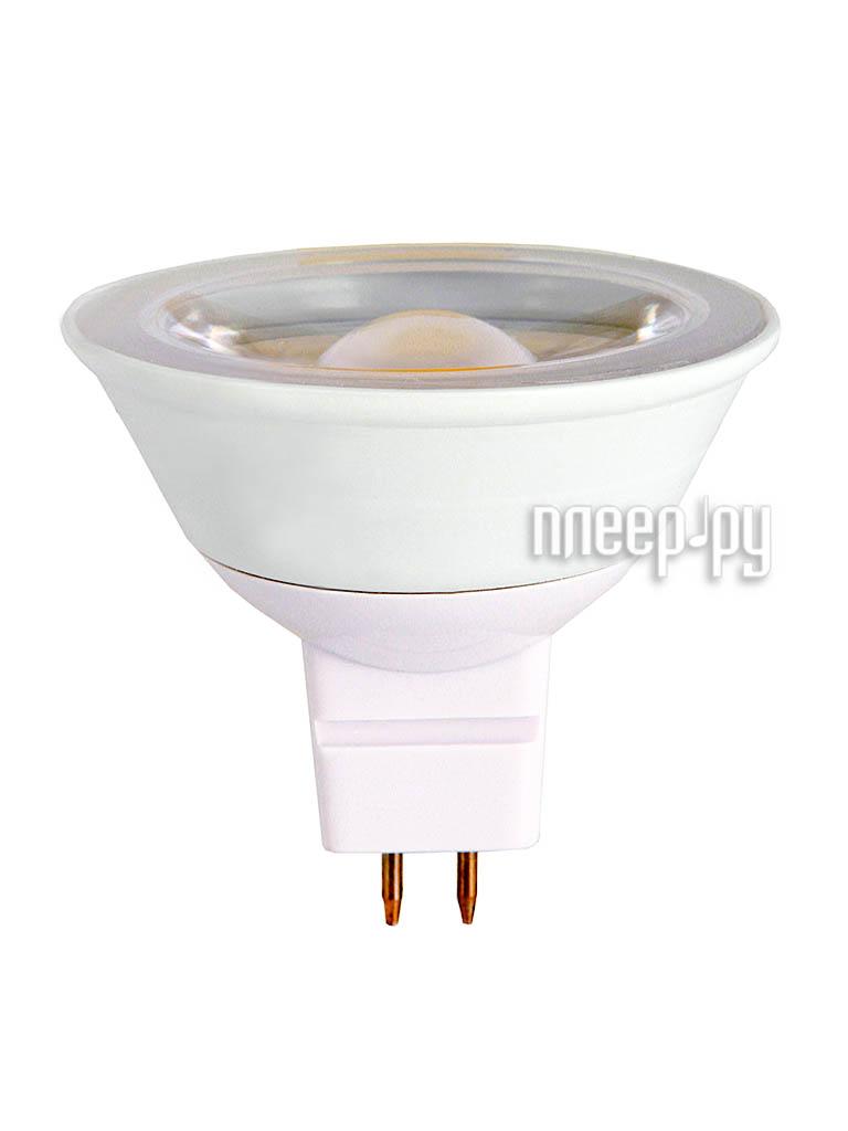 Лампочка Robiton LED MR16-4.6W-220V-2700K-GU5.3