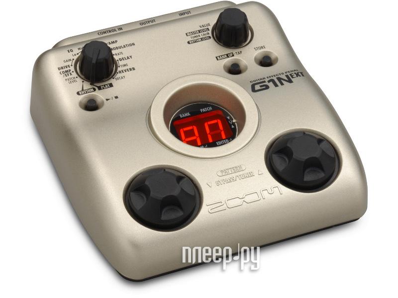 Процессор эффектов Zoom G1N+AC  Pleer.ru  2760.000