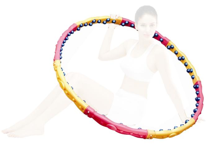 Массажный обруч ХулаХуп Health Hoop W DYNAMIC PHD33000W 2.3 Kg  Pleer.ru  1340.000