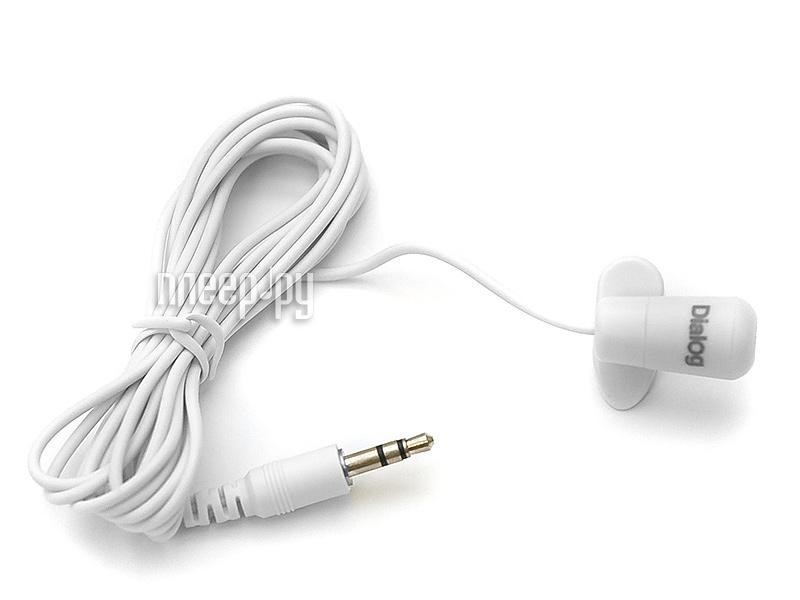 Микрофон Dialog M-106W White