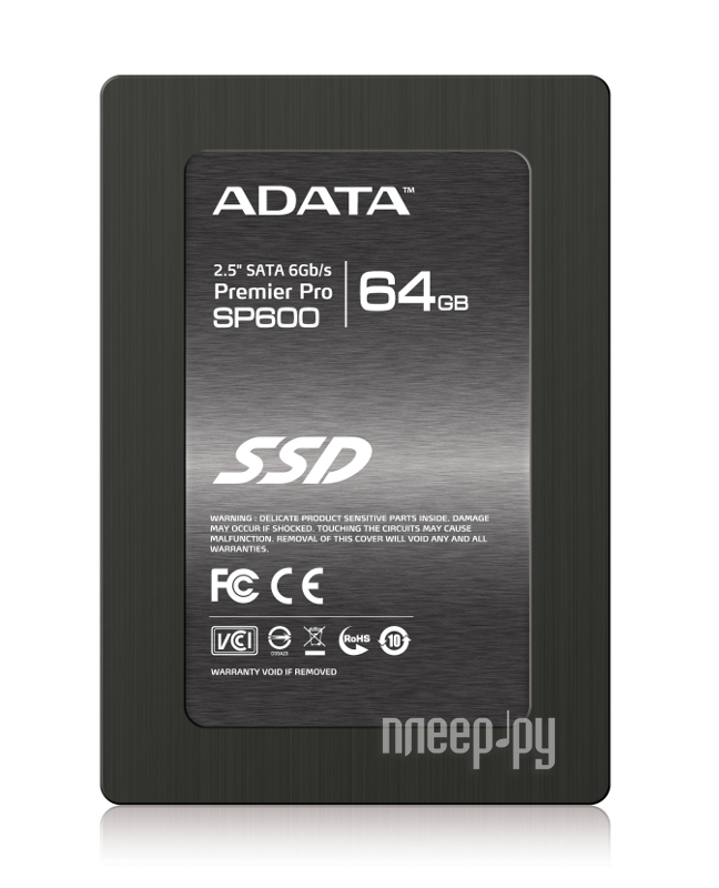 Жесткий диск 64Gb - A-Data Premier Pro SP600 ASP600S3-64GM-C