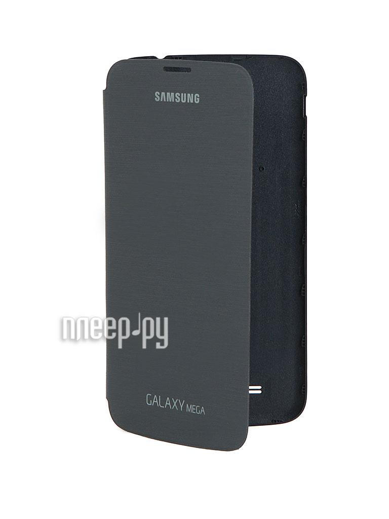 Аксессуар Чехол Samsung GT-i9200 Galaxy Mega 6.3 EF-FI920BBEGRU Black  Pleer.ru  1204.000