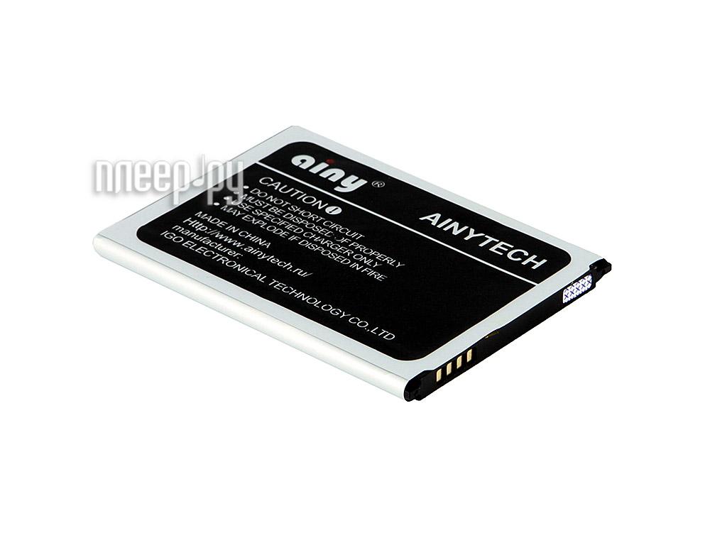 Аксессуар Аккумулятор Samsung GT-i9190 Galaxy S4 mini Ainy - 2100 mAh  Pleer.ru  785.000