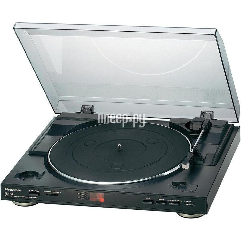 Проигрыватель виниловых дисков Pioneer PL-990 Black  Pleer.ru  5649.000