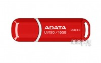 USB Flash Drive 16Gb - A-Data UV150 Red AUV150-16G-RRD