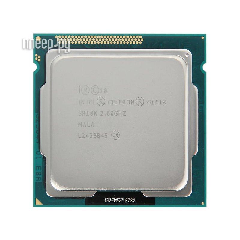 Процессор Intel Celeron G1610 Ivy Bridge OEM (2600MHz/LGA1155/L3 2048Kb)  Pleer.ru  1210.000