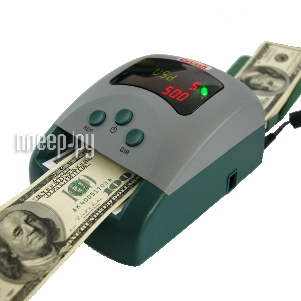 Детектор валют DoCash 430 USD/EUR/RUB  Pleer.ru  5211.000