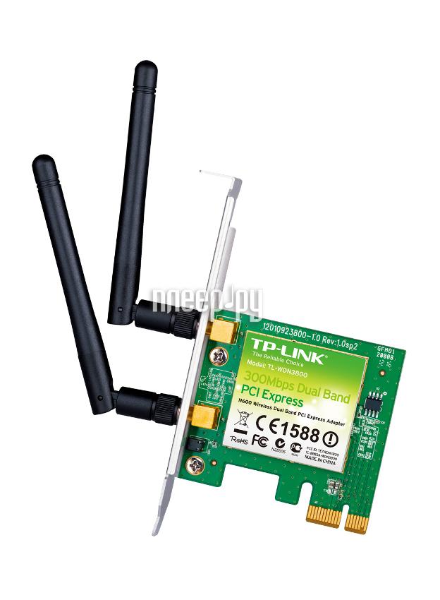 Wi-Fi адаптер TP-LINK TL-WDN3800  Pleer.ru  959.000