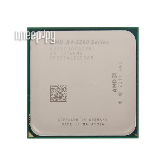 Процессор AMD X2 A4-5300 Trinity OEM (3400MHz/SocketFM2/1024Kb)  Pleer.ru  917.000