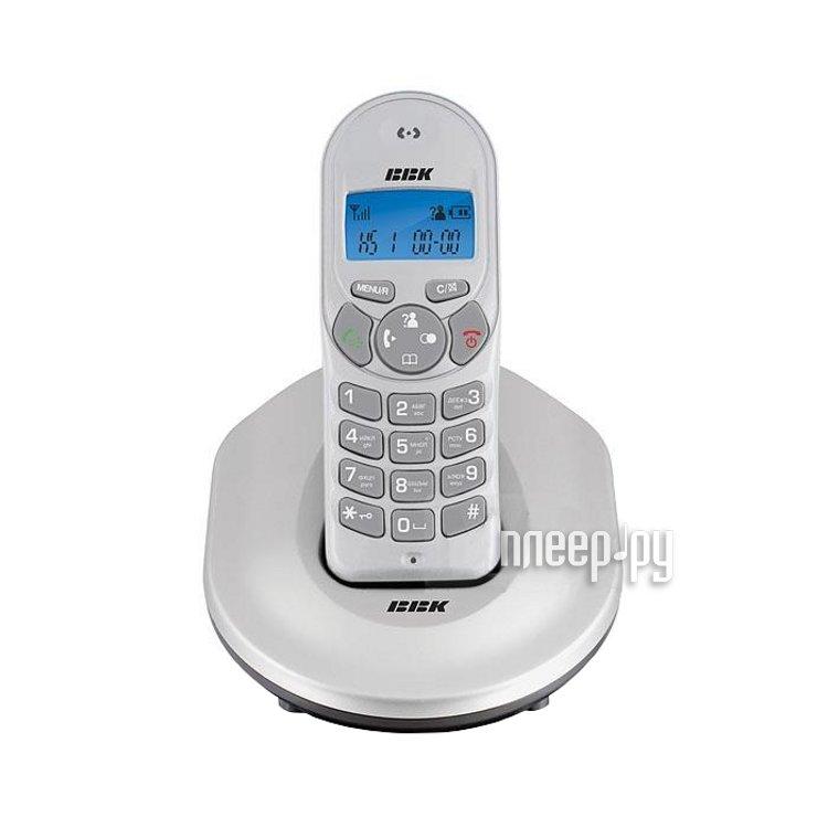 Радиотелефон BBK BKD-810 RU Silver  Pleer.ru  517.000
