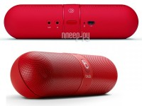 Beats by Dr.Dre Pill Red