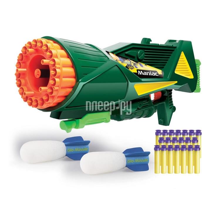 Бластер Buzz Bee Toys Пулемет с ракетой 68243  Pleer.ru  1441.000