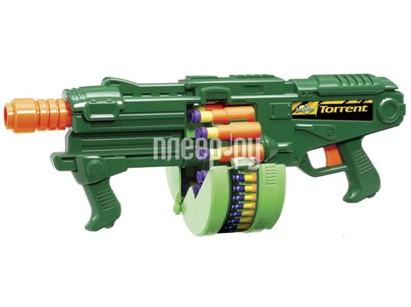 Бластер Buzz Bee Toys Пулемет с гильзами 69603 Производим тестирование.  Продажа в кредит.